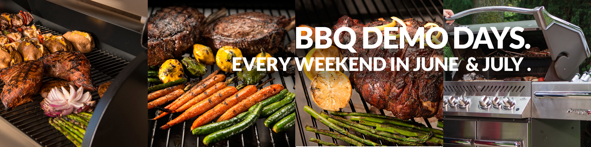 Drop by our new showroom and see the latest in outdoor cooking - BBQs, smokers,  wood-fired ovens, ceramic cookers and more. Click here for more details.