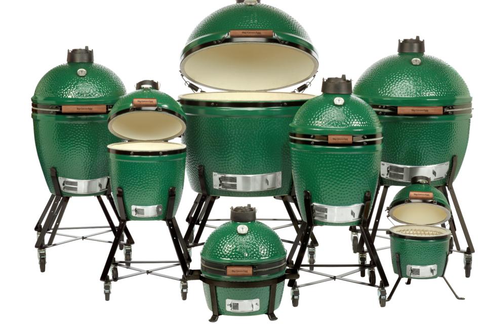 The Big Green Egg Family